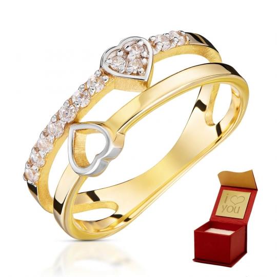 Złoty pierścionek Zakochany próba 585