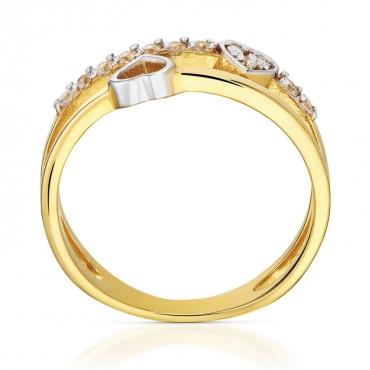 Złoty pierścionek Zakochany
