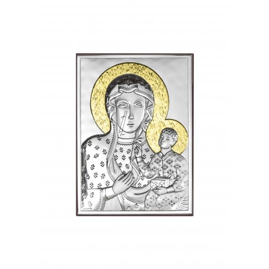 Obrazek Matka Częstochowska Złocona
