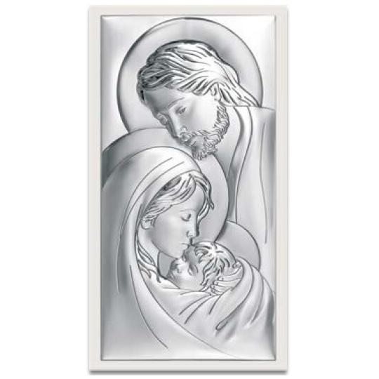 Obraz Św. Rodzina z Widocznym Białym Drewnem