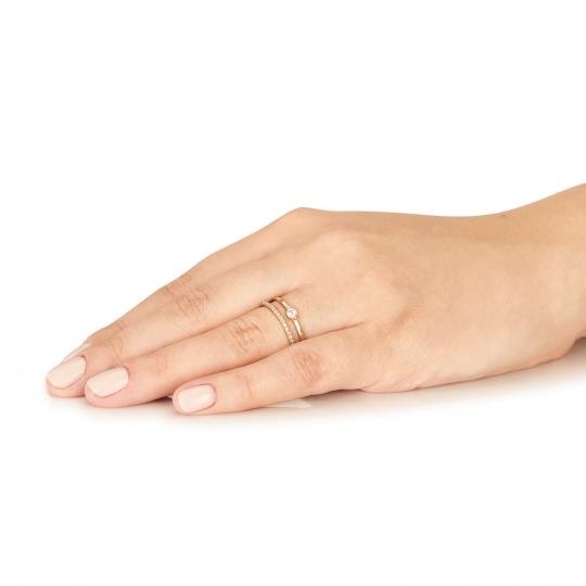 Złoty pierścionek Arian