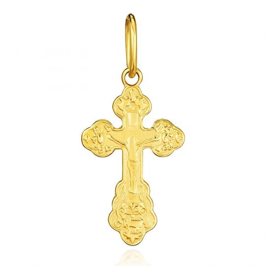 Złoty krzyżyk prawosławny