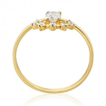 Złoty pierścionek Talizman