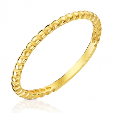 Złoty pierścionek Trójnik