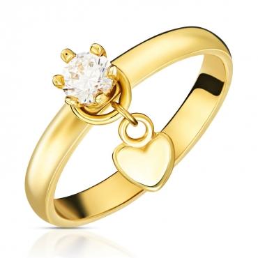 Złoty pierścionek Miłośnik