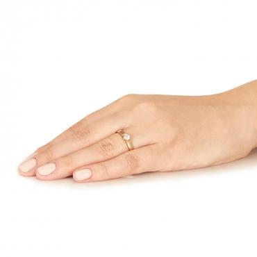Złoty pierścionek Na zawsze próba 585