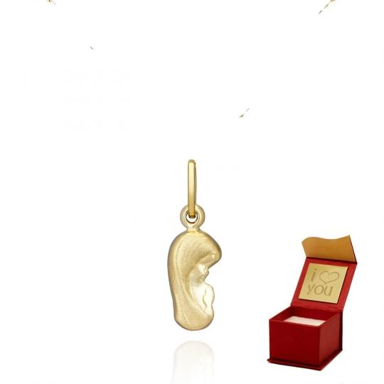 Medalik Matki Boskiej Chrzest/Komunia próba 585