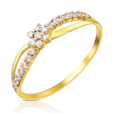 Złoty pierścionek Ukochany
