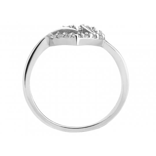 Srebrny pierścionek Serce Miłość Prezent