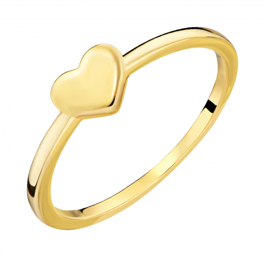 Złoty Pierścionek Serce All Love próba 333