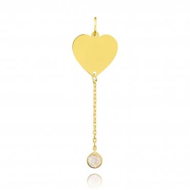 Złoty wisiorek  All Love próba 585