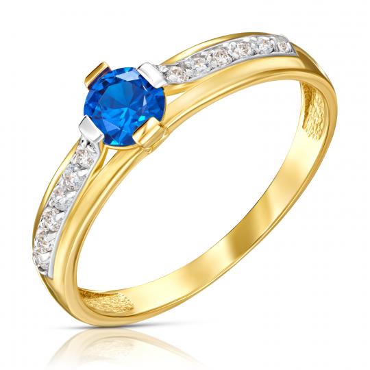 Złoty pierścionek Moonlight 1.891n
