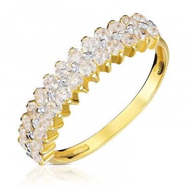 Złoty pierścionek Eventowy próba 585