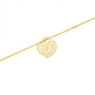 Złota bransoletka na dłoń 3.2425c2