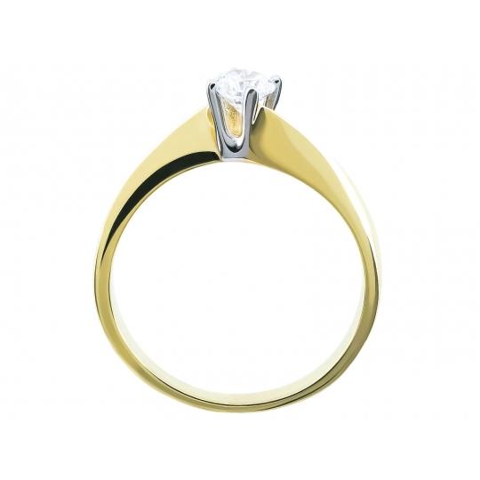 Złoty pierścionek Idealny na zaręczyny