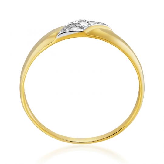 Złoty pierścionek Czauma