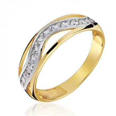 Złoty pierścionek Marzenie