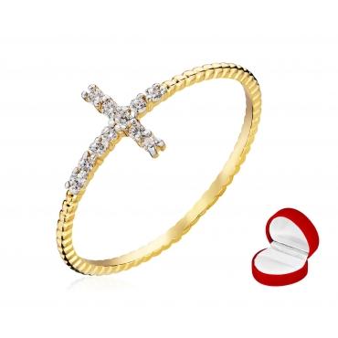 Złoty Pierścionek Sakralny