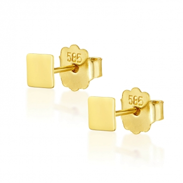 Złote kolczyki Figaro 3.2470i